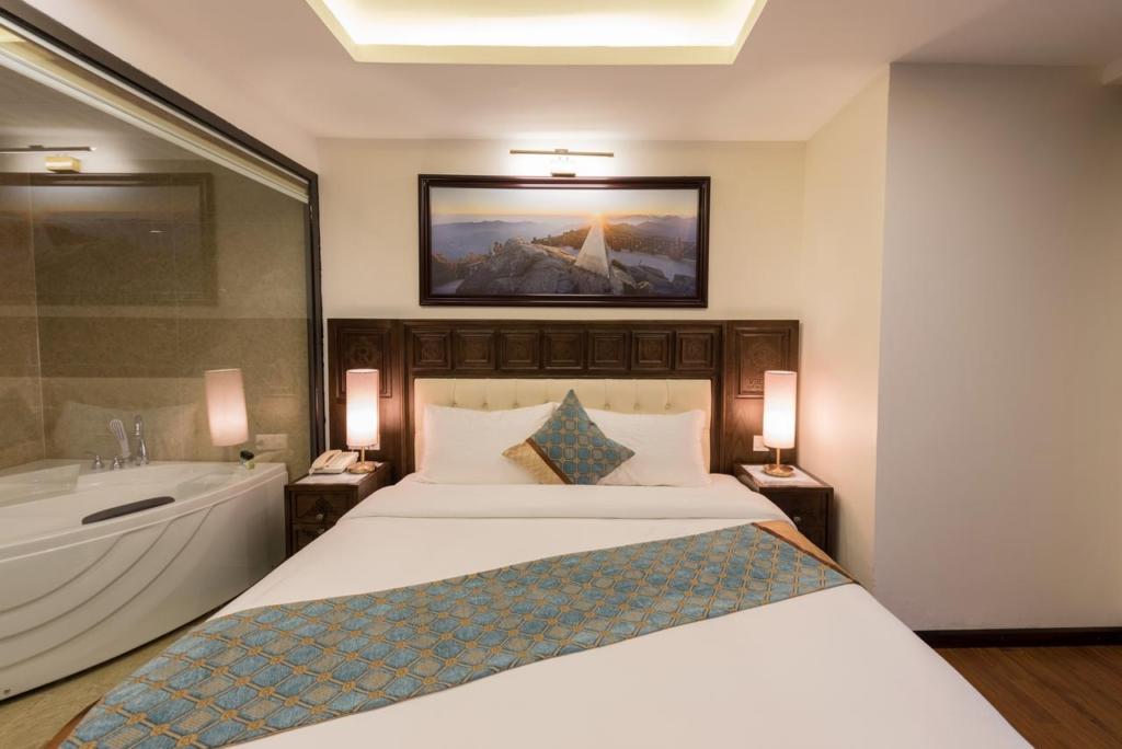 133280474 1024x684 - Thiết kế & thi công nội thất khách sạn 4 sao Sapa Relax Hotel & Spa