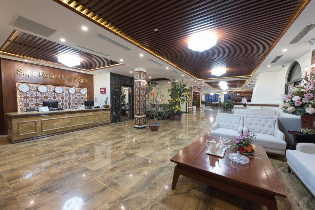 133280661 1024x683 - Thiết kế & thi công nội thất khách sạn 4 sao Sapa Relax Hotel & Spa