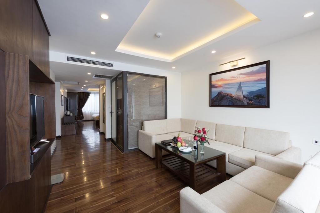 133280668 1024x683 - Thiết kế & thi công nội thất khách sạn 4 sao Sapa Relax Hotel & Spa