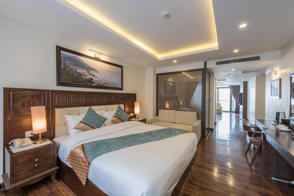 133280676 1024x683 - Thiết kế & thi công nội thất khách sạn 4 sao Sapa Relax Hotel & Spa