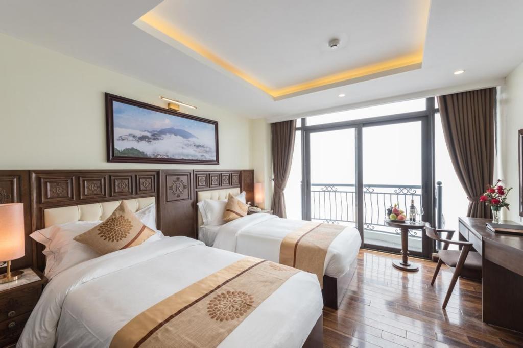 133280694 1024x683 - Thiết kế & thi công nội thất khách sạn 4 sao Sapa Relax Hotel & Spa