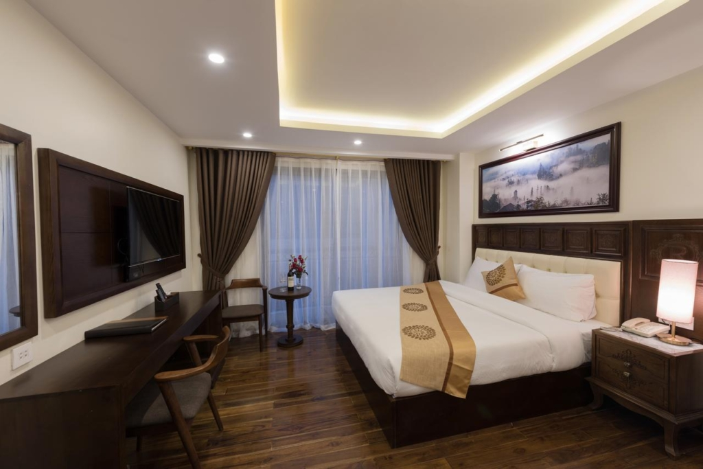133280707 1024x683 - Thiết kế & thi công nội thất khách sạn 4 sao Sapa Relax Hotel & Spa