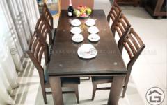 2 1 240x152 - Bàn ghế ăn gỗ BA03
