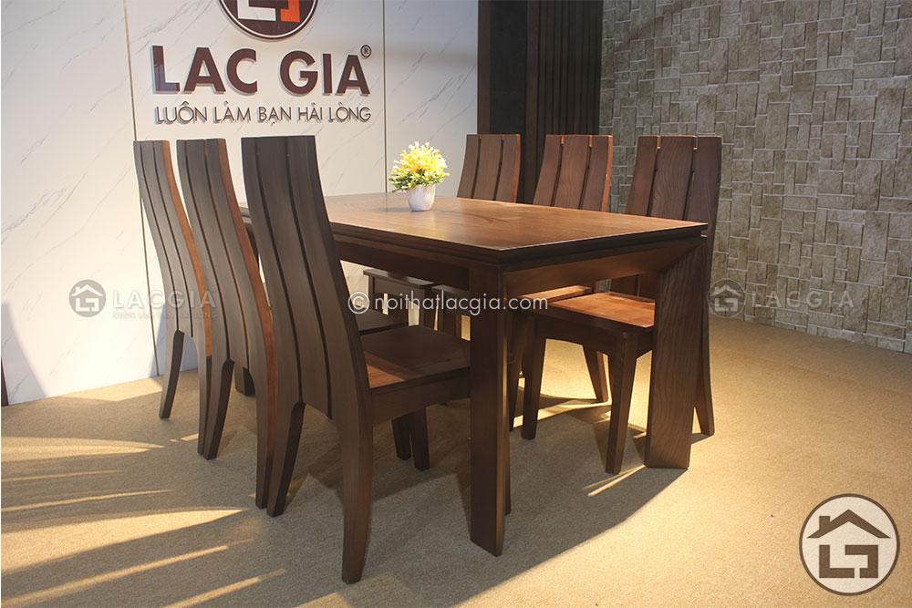 2 10 - Những mẫu bàn ăn gỗ sồi Nga hiện đại cao cấp