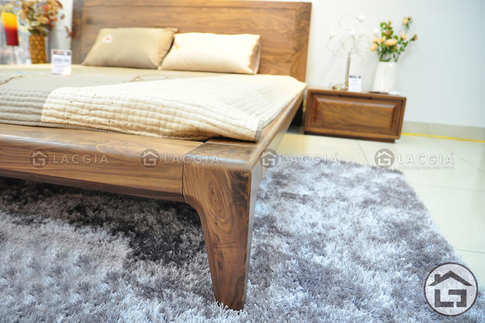 Chất liệu gỗ tự nhiên bền bỉ, đẹp mắt