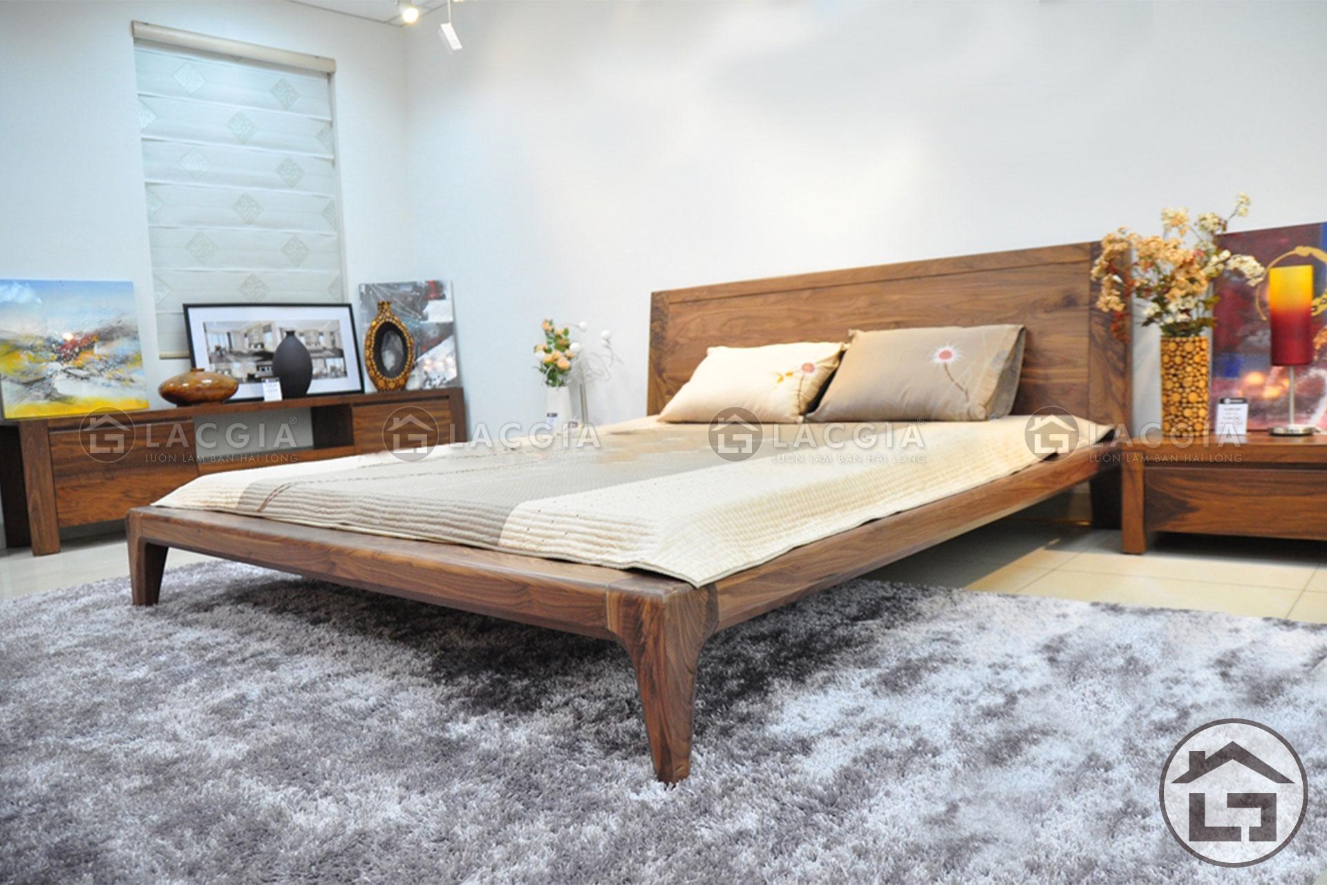 4 2 - Giường ngủ gỗ đẹp GN01