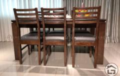 6 1 240x152 - Bàn ghế ăn gỗ BA03