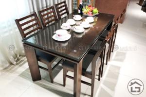 7 1 300x200 - Bàn ghế ăn gỗ BA03