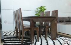 BAN AN BA07 240x152 - Bàn ghế ăn gỗ hiện đại BA07