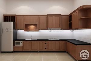 TU BEP GO HIEN DAI 03 300x200 - Tủ bếp gỗ tự nhiên TB02