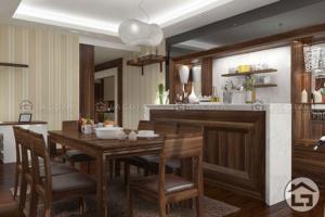 Untitled 2 1 300x200 - Bàn ghế ăn gỗ có nệm BA05