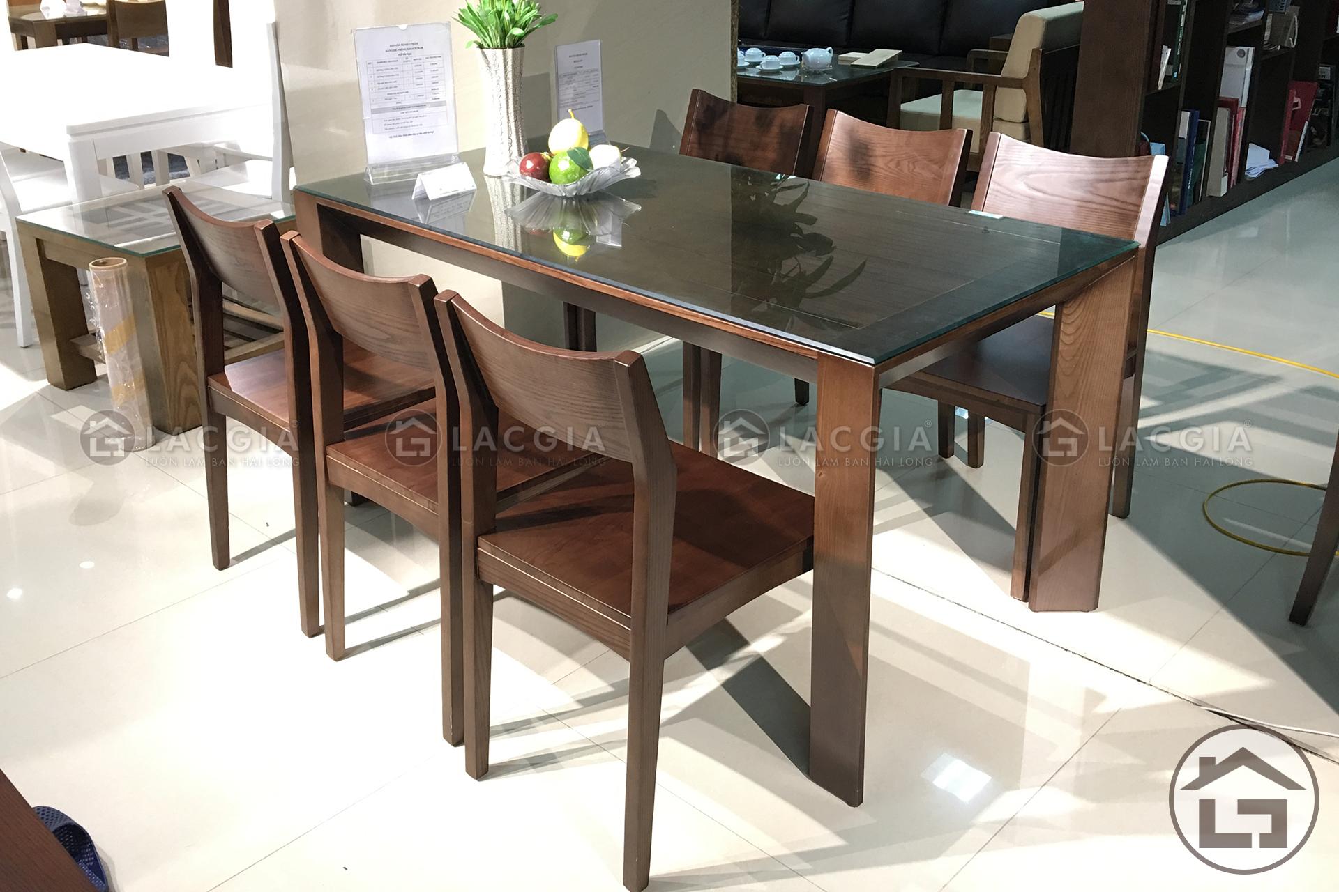 acvasc - Bàn ghế ăn gỗ hiện đại BA06