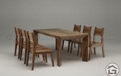 ba06 240x152 - Bàn ghế ăn gỗ hiện đại BA06