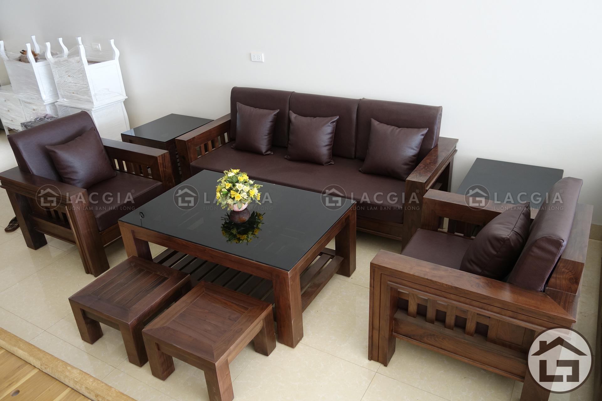 ban ghe go hien dai lg bg02 3 - Bàn ghế gỗ dạng hộp BG02