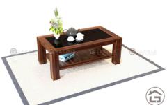 Trang trí bàn trà gỗ