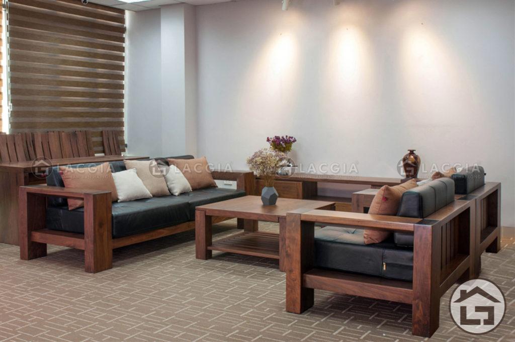bo ban ghe go phong khach lg bg01 1 1024x680 - Bàn ghế gỗ hiện đại BG01