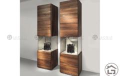 ke trang tri 05 240x152 - Tủ gỗ trang trí đẹp TTT05