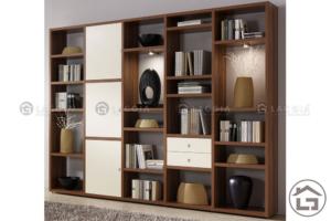 ke trang tri 10 300x200 - Tủ trang trí phòng khách TTT10