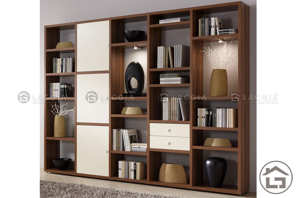 ke trang tri 10 - Tủ trang trí phòng khách TTT10
