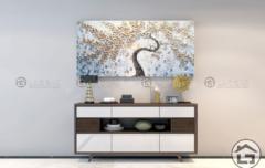 ke trang tri 12 240x152 - Tủ trang trí gỗ đẹp TTT12