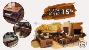 Khuyến mại nội thất phòng khách