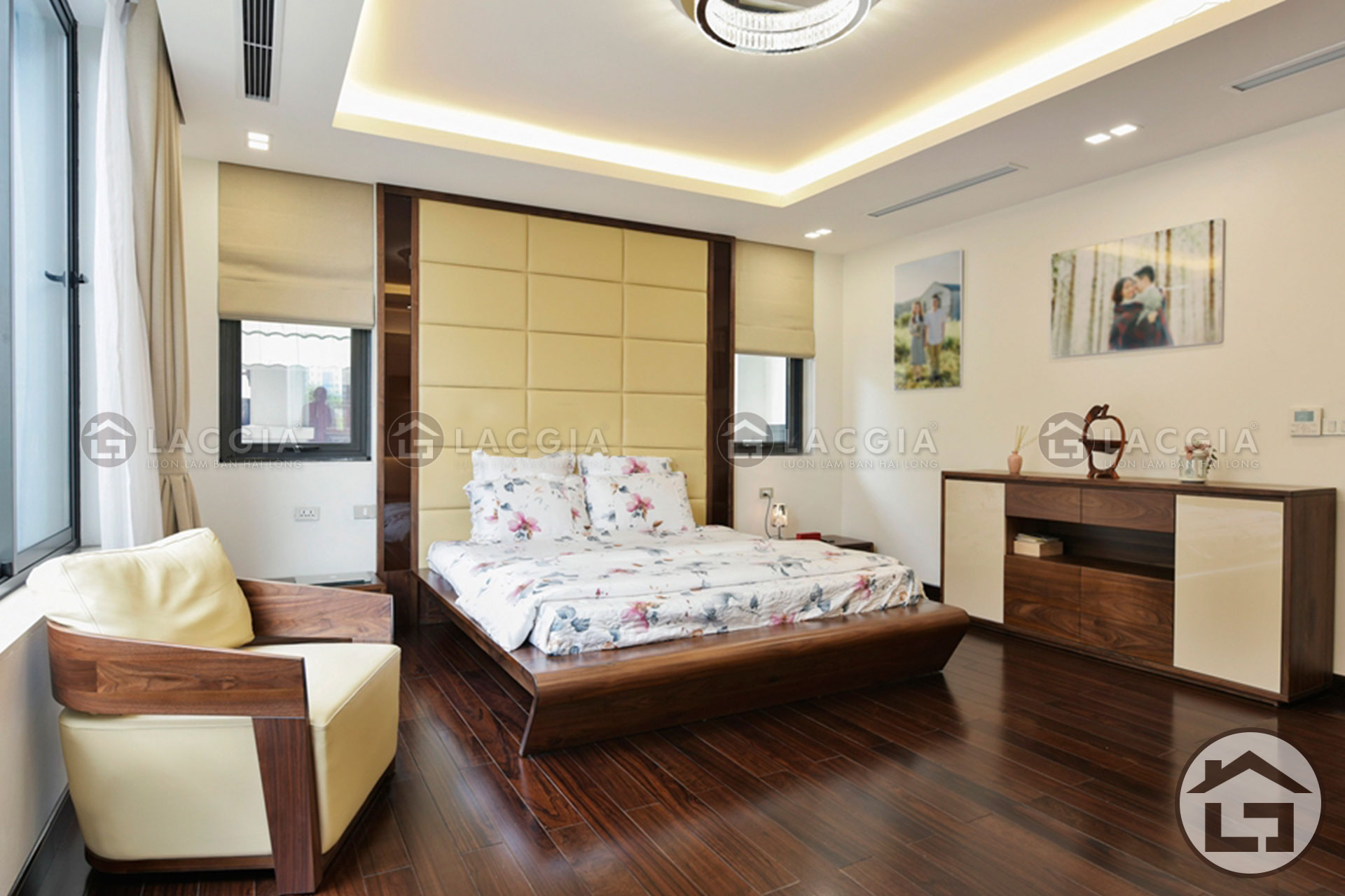 Thiết kế không gian nội thất phòng ngủ
