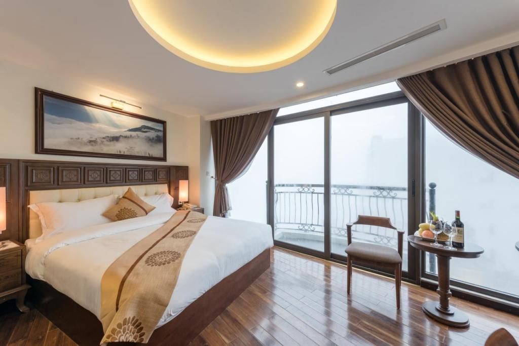 noi that phong ngu khach san relax hotel sapa 1024x683 - Thiết kế & thi công nội thất khách sạn 4 sao Sapa Relax Hotel & Spa
