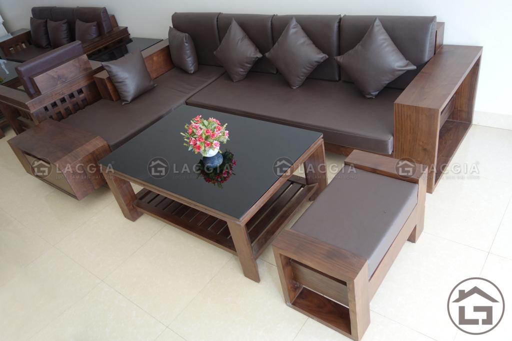sofa go nho dep lg sf03 6 1024x683 - Cách bài trí nội thất thông minh nhất cho phòng khách