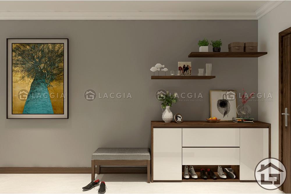 TG01 - mẫu tủ giày gỗ đẹp, cao cấp cho không gian ngăn nắp