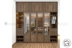 các mẫu tủ quần áo gỗ tự nhiên, gỗ công nghiệp đẹp nhất 2018