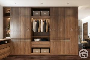 các mẫu tủ quần áo gỗ tự nhiên, gỗ công nghiệp đẹp nhất 2020