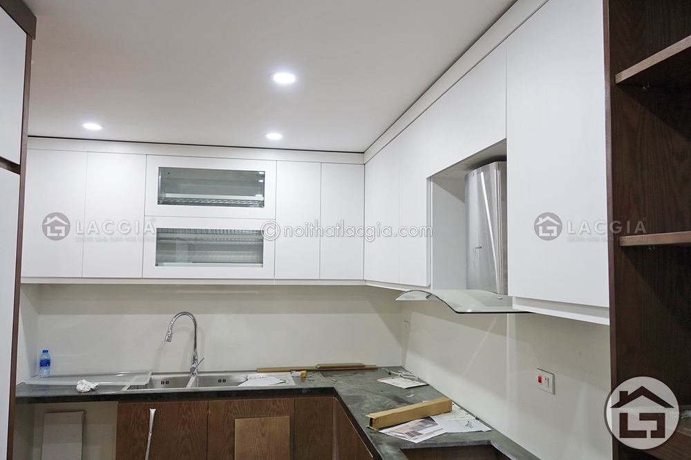 13 - Thiết kế và thi công nội thất chung cư hiện đại (Anh Hà - Tân Mai)
