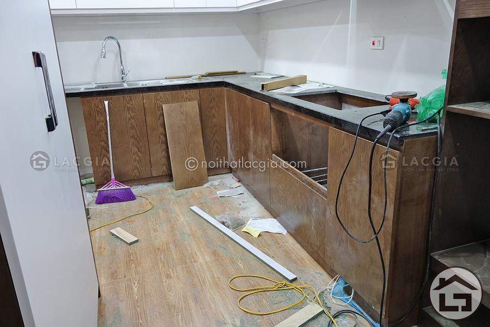 15 - Thiết kế và thi công nội thất chung cư hiện đại (Anh Hà - Tân Mai)