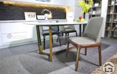 BA10 ban an mat da ghe boc da co vai 5 240x152 - Bàn ghế ăn gỗ cao cấp BA11