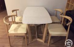 BA11 ban an mat da ghe boc da co vai go 1 240x152 - Bàn ghế ăn gỗ đẹp BA12