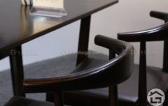 BA11 ban an mat da ghe boc da co vai go 13 240x152 - Bàn ghế ăn gỗ đẹp BA12