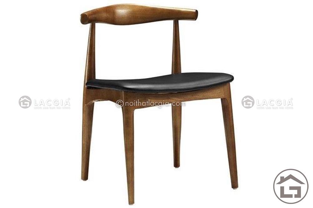 BA11 ban an mat da ghe boc da co vai go 7 - Bàn ghế ăn gỗ đẹp BA12