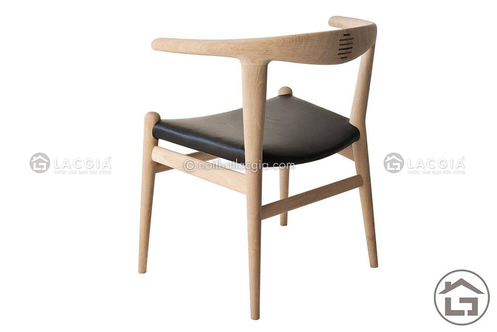 BA11 ban an mat da ghe boc da co vai go 8 - Bàn ghế ăn gỗ đẹp BA12