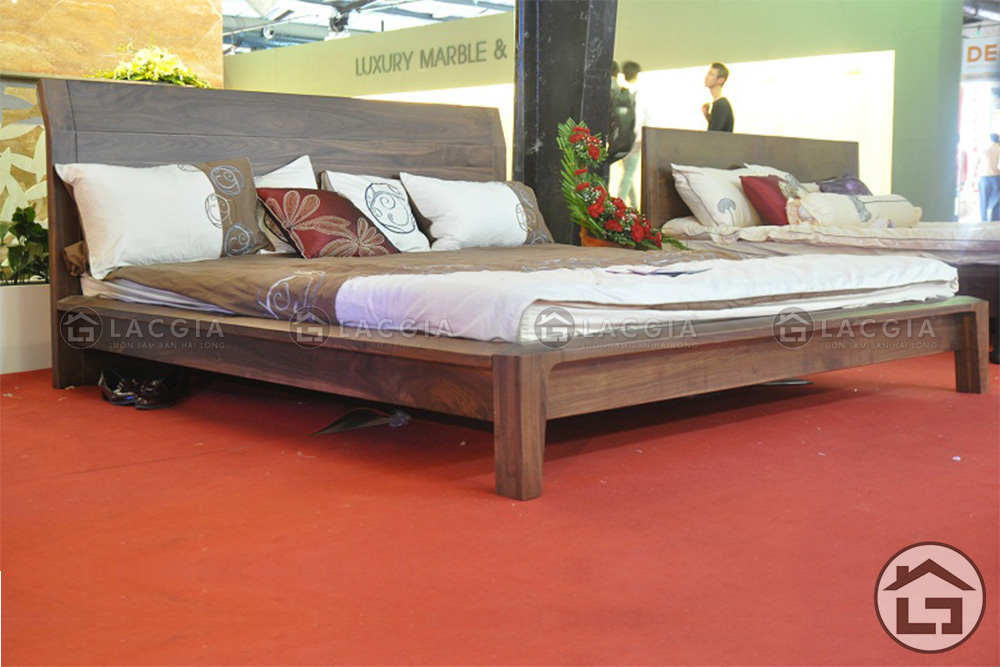 lg - Giường ngủ gỗ hiện đại GN10