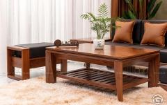 Sofa gỗ chữ L đẹp SF08