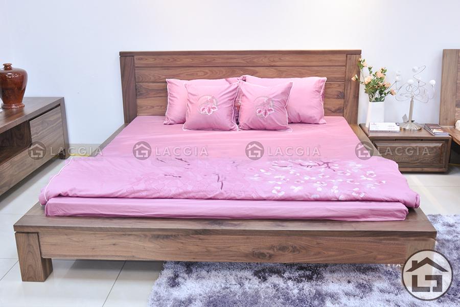 sf06 - Giường gỗ hiện đại GN08