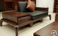 Sofa gỗ óc chó cao cấp SF10
