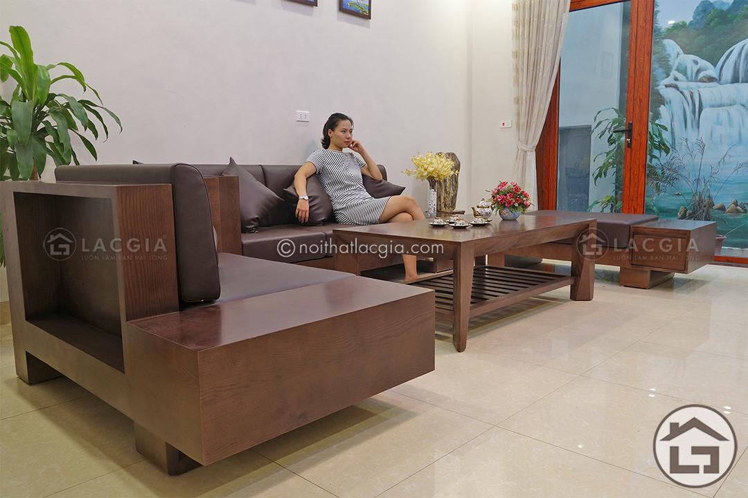 ban ghe sofa go dep SF06 1 - Sofa gỗ đẹp SF06