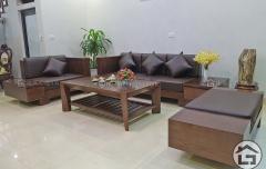 Bàn ghế sofa gỗ đẹp cho phòng khách