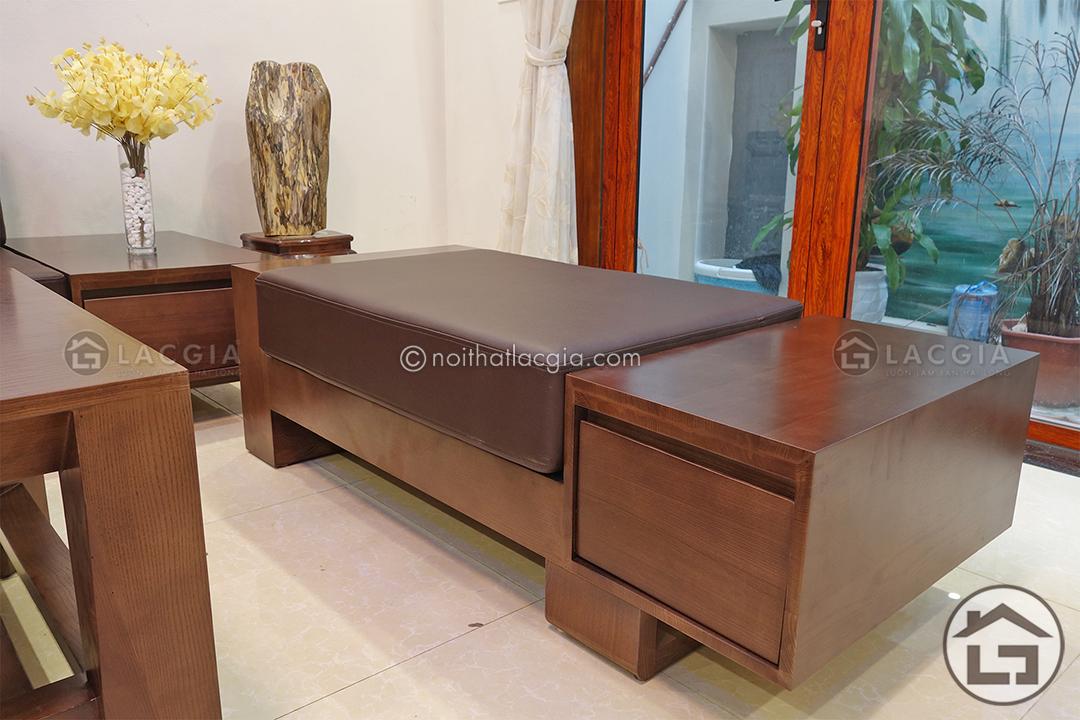Mẫu sofa gỗ đẹp tại Nội Thất Lạc Gia