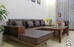 Sofa gỗ đẹp, giá rẻ tại tại Hà Nội