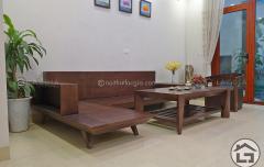 Sofa gỗ đẹp cho chung cư với vẻ đẹp hiện đại và sang trọng