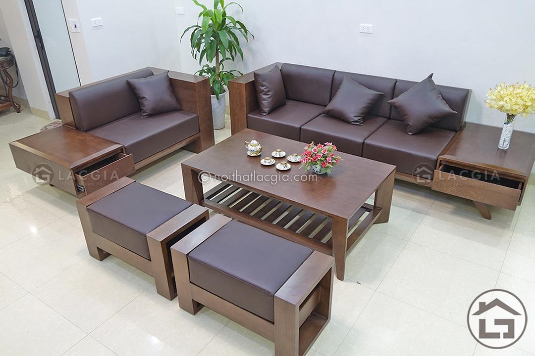 Bật mí cách vệ sinh sofa gỗ tại nhà đúng chuẩn