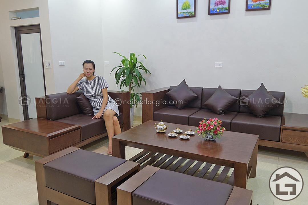 Thiết Kế Sofa Gỗ Tự Nhien Ben đẹp Gia Tốt Tại Xưởng