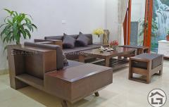 Mẫu sofa gỗ hiện đại cho chung cư cao cấp